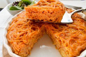 Frittata of spaghetti