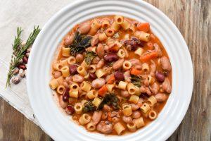 Pasta 'e fagioli' (with beans)
