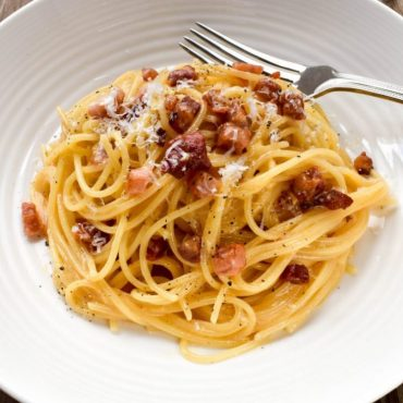 The real Spaghetti Carbonara