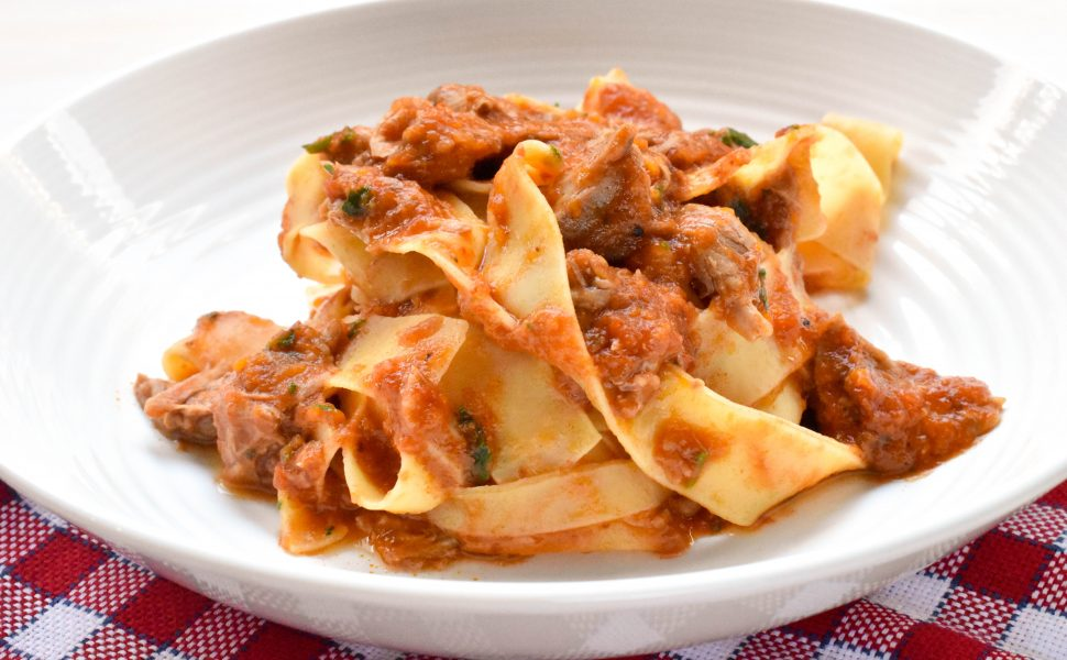 Veal osso bucco pappardelle