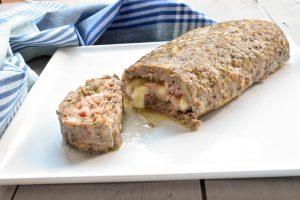 Polpettone ripieno (stuffed meatloaf)
