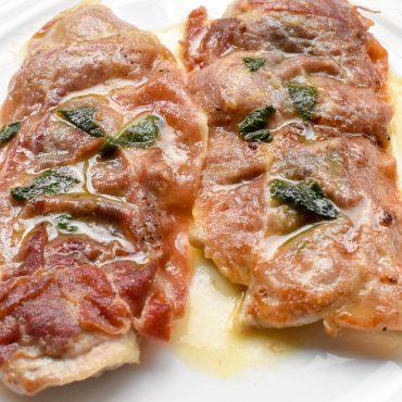 Veal Saltimbocca alla Romana