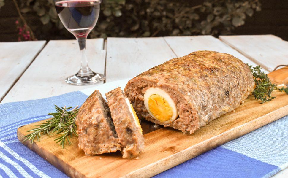 Polpettone d'agnello (lamb meatloaf)