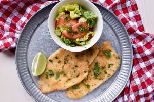 Oven baked chicken 'cotoletta' (schnitzel)