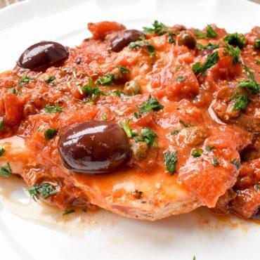 Swordfish alla Siciliana