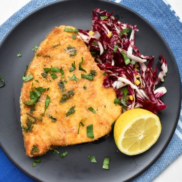 Swordfish impanato (crumbed)