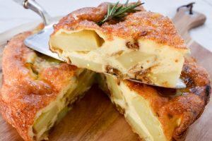 Frittata 'di patate' (of potatoes)