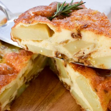 Frittata 'di patate' (of potatoes)