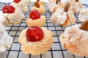 Biscotti 'di mandorla' (almond biscuits)