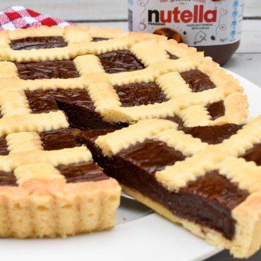 Crostata alla Nutella (Nutella tart)