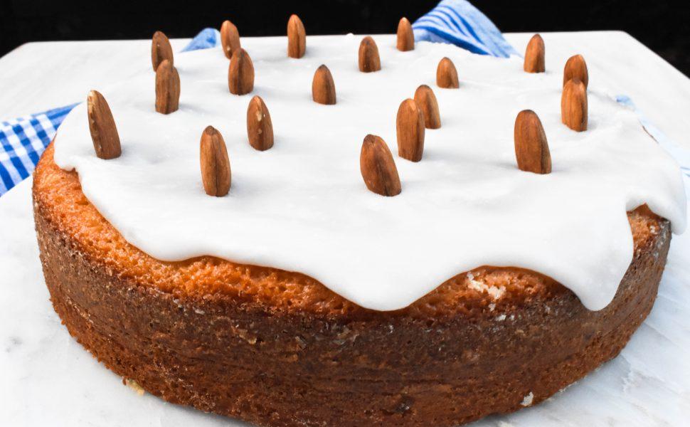 Ciambella alle mandorle (almond cake)