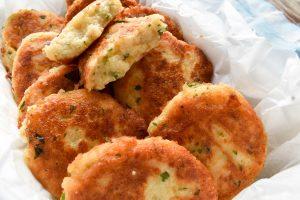 Sicilian polpette di patate (potato balls)