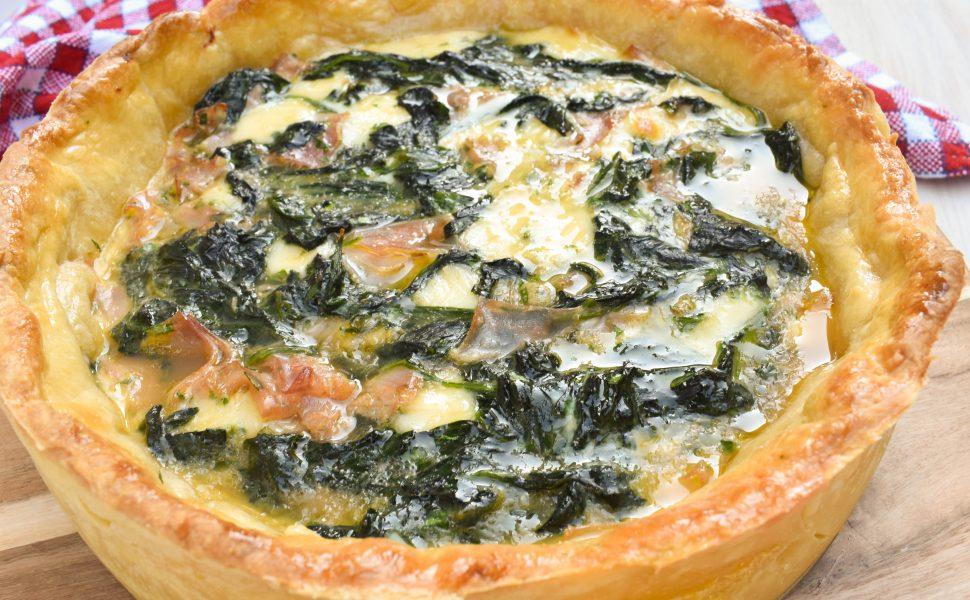 Torta salata di spinaci (spinach tart)