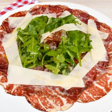 Carpaccio of Bresaola, Rocket and Parmigiano Reggiano