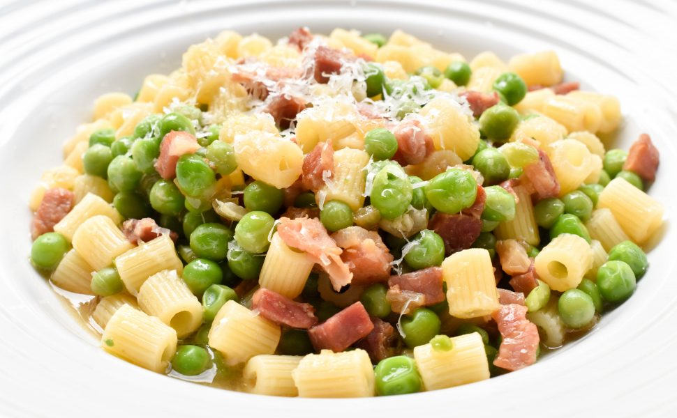 Pasta with peas – Calabrese-style