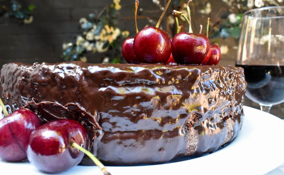 The world's best Red Wine Chocolate Cake