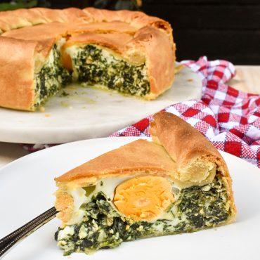 Torta Pasqualina (savoury Easter cake)
