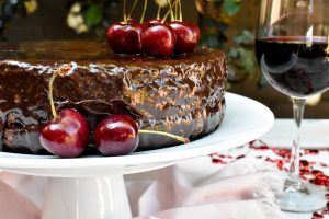 1. The world's best Red Wine Chocolate Cake