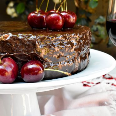 The world's best Red Wine Chocolate Cake
