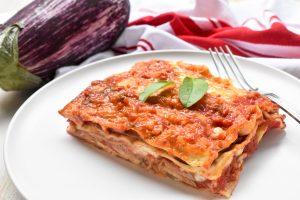 Lasagne 'alle melanzane' (of eggplant/aubergine)