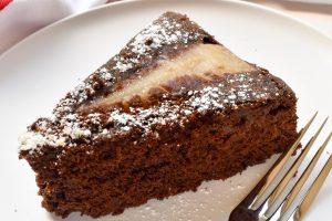 Torta di pera e cioccolato (pear and chocolate)