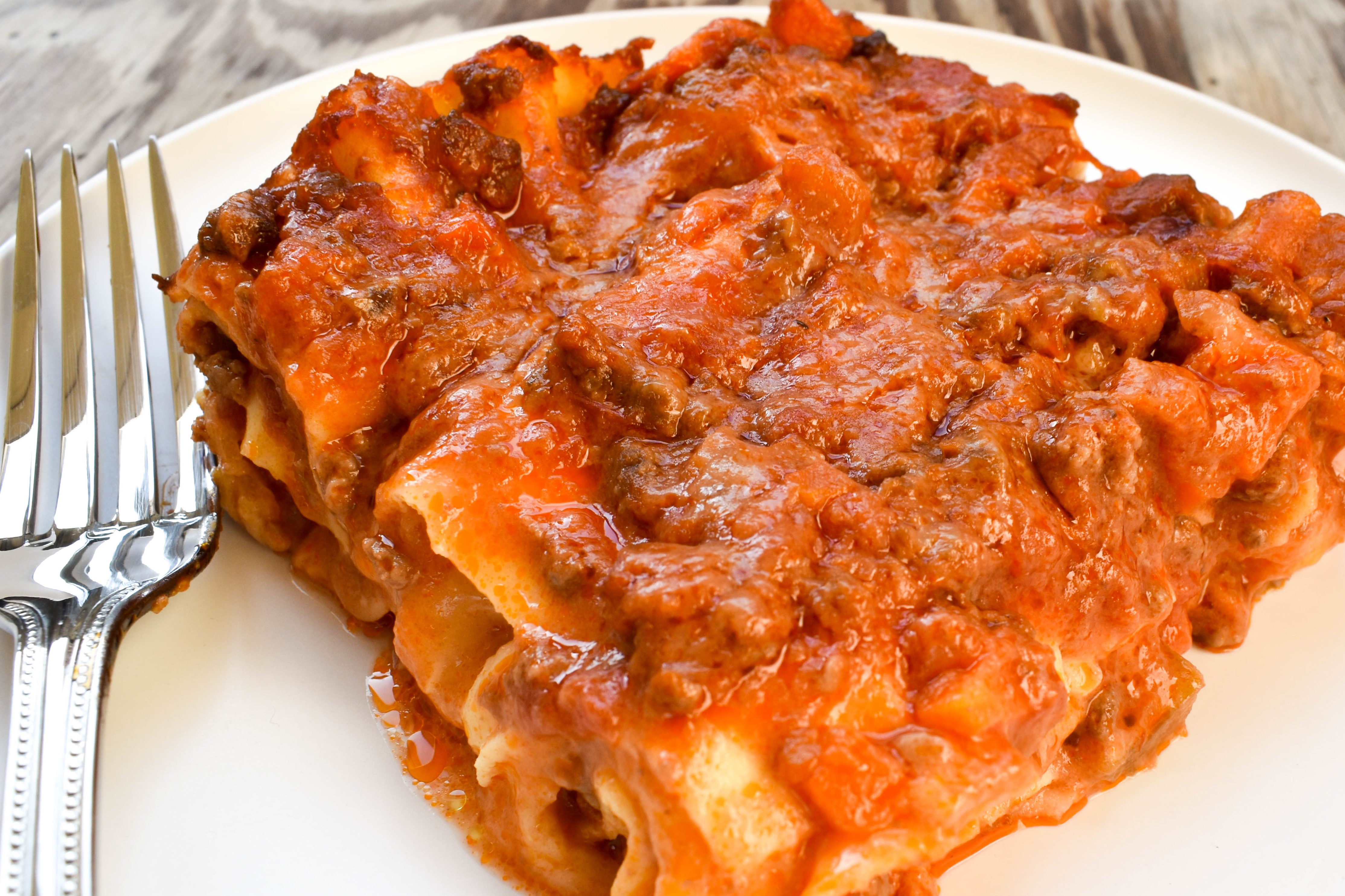 How do you make the best lasagne?
