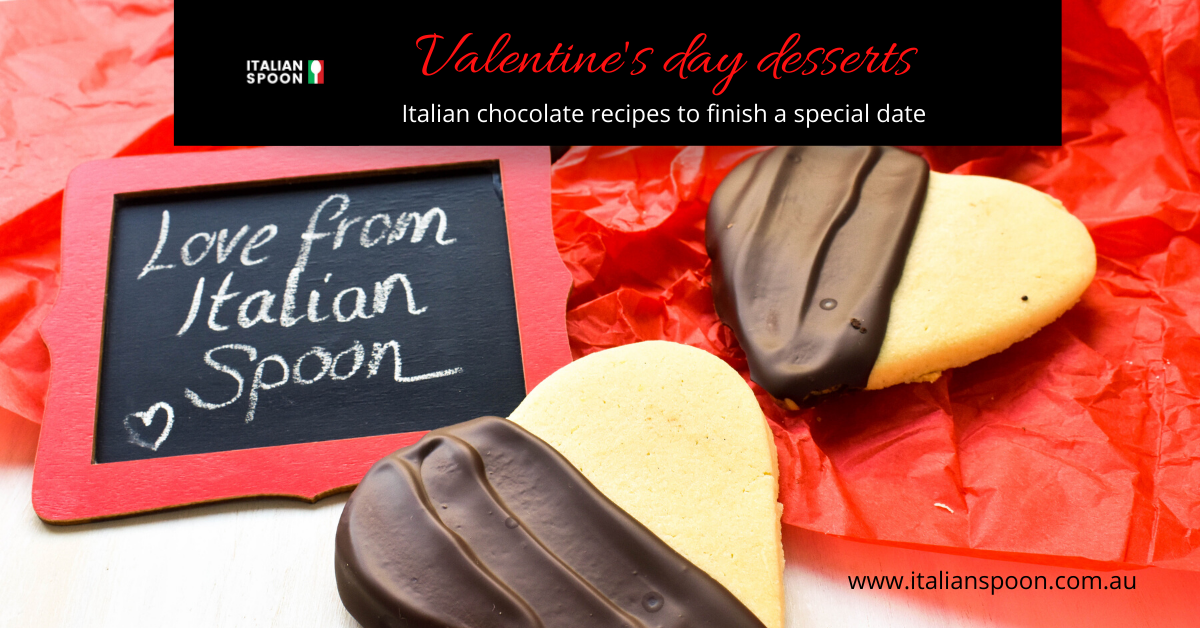 Valentine's day desserts: Italian chocolate recipes to finish a special date