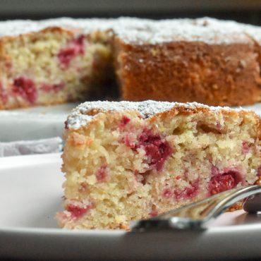 Easy raspberry cake