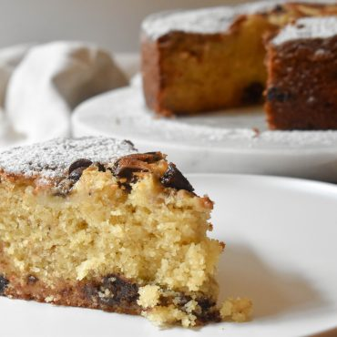 Best choc chip banana cake