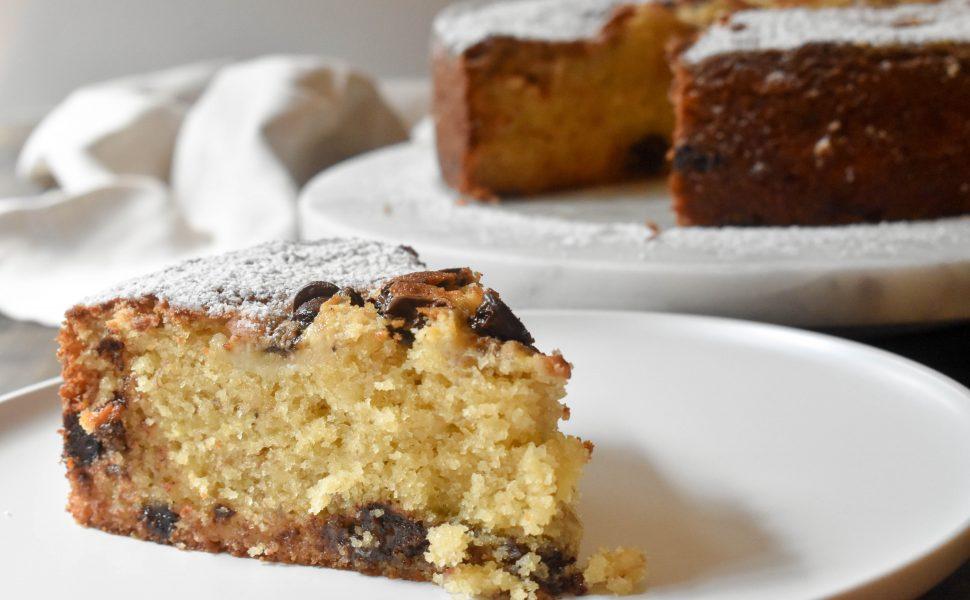 Best choc chip banana cake