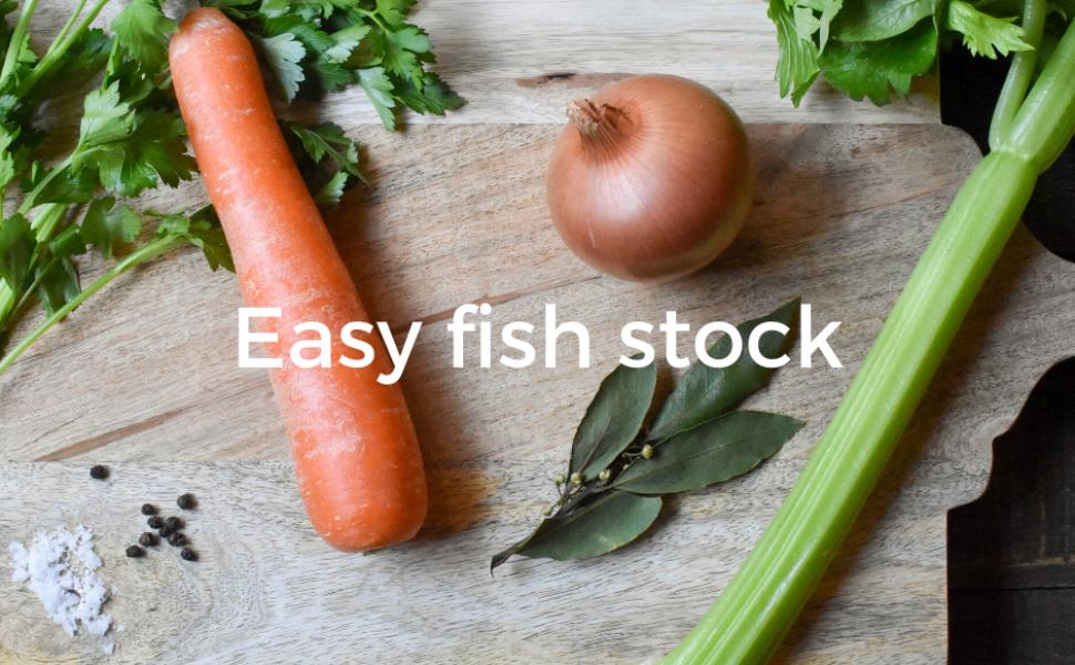 Easy fish stock (Brodo di Pesce)
