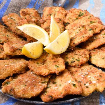 Sicilian crumbed sardines