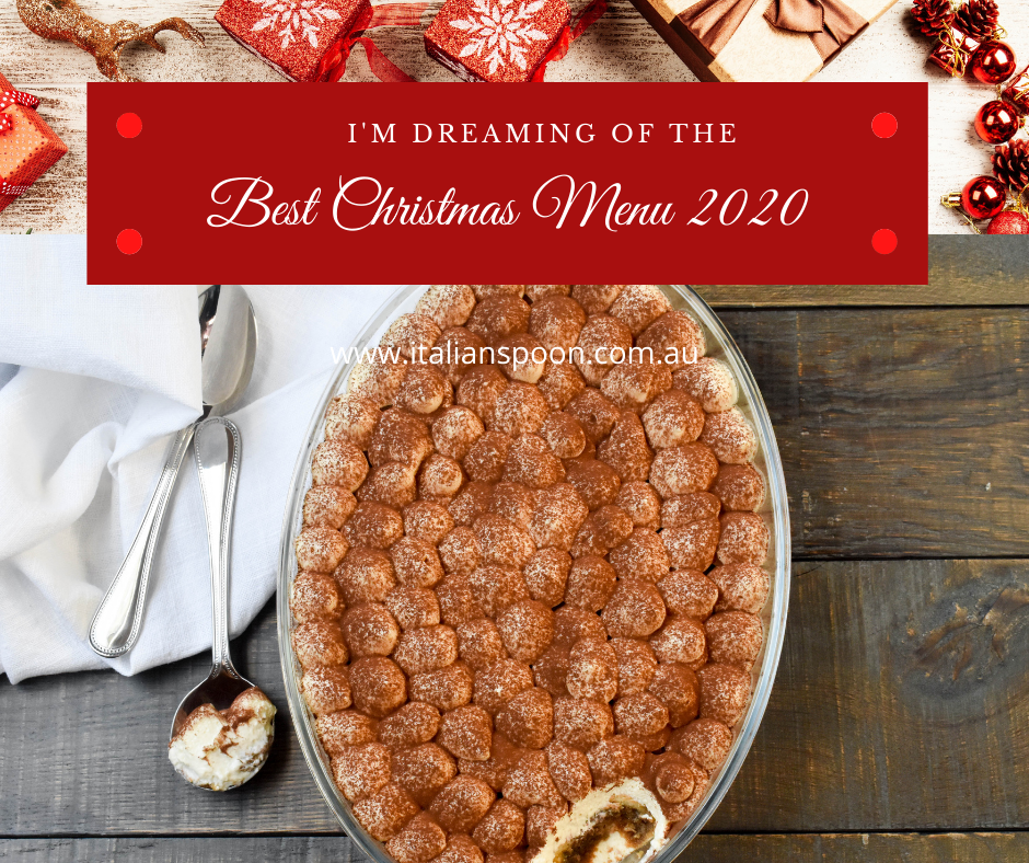 I'm dreaming of the Best Christmas Menu 2020