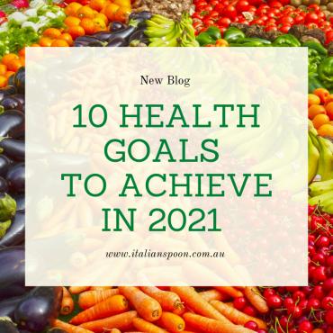 10 health goals to achieve in 2021