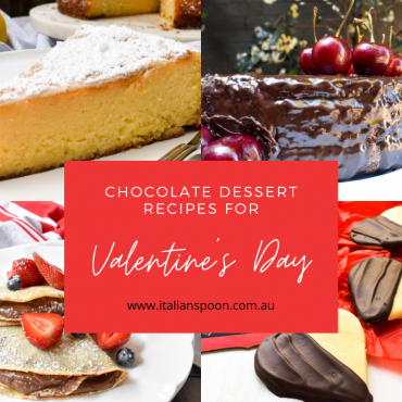 Chocolate dessert recipes for Valentine's Day