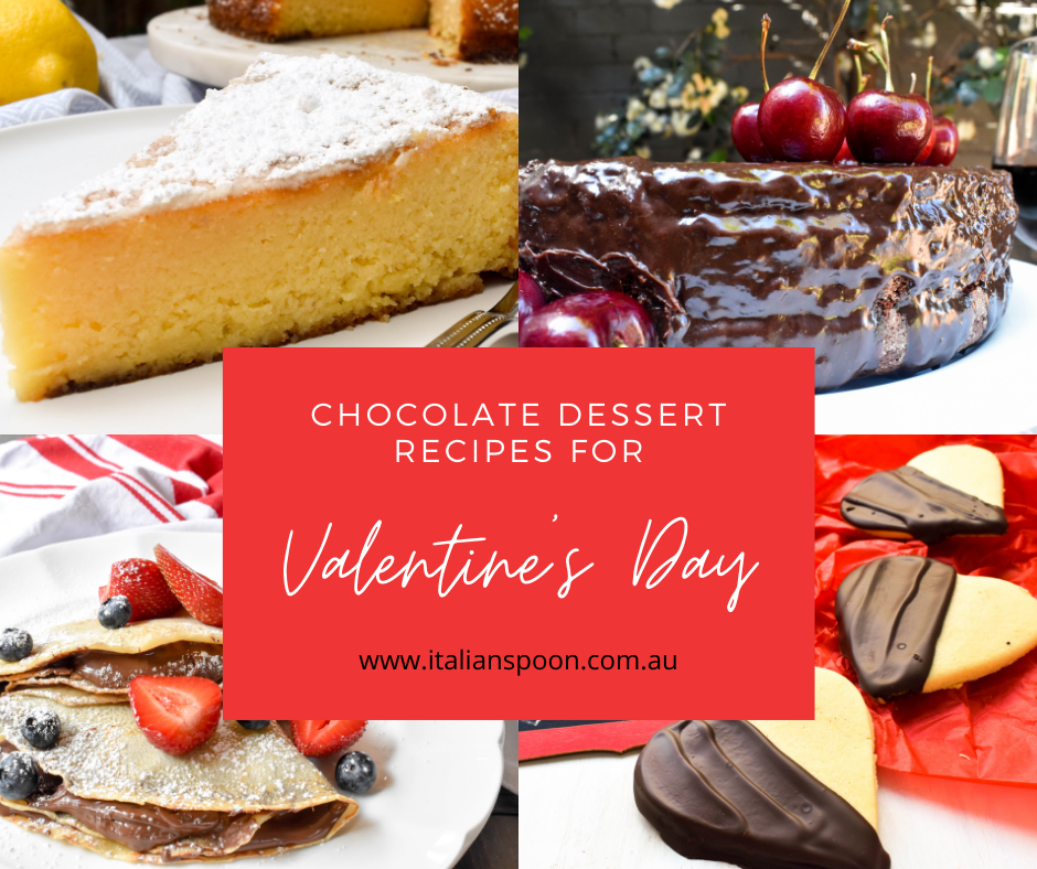 Chocolate dessert recipes for Valentine's Day