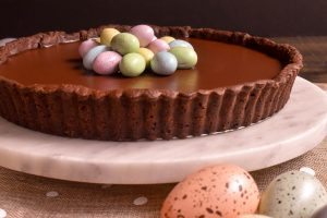 Chocolate Easter tart