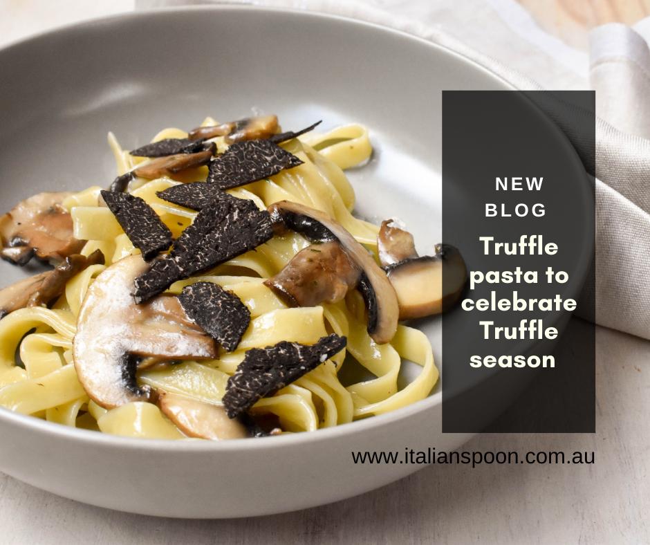 Truffle pasta to celebrate Truffle season